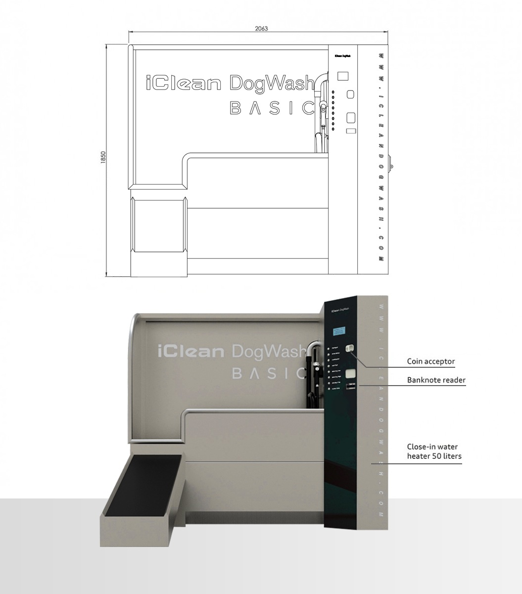 dimensions dogwash basic
