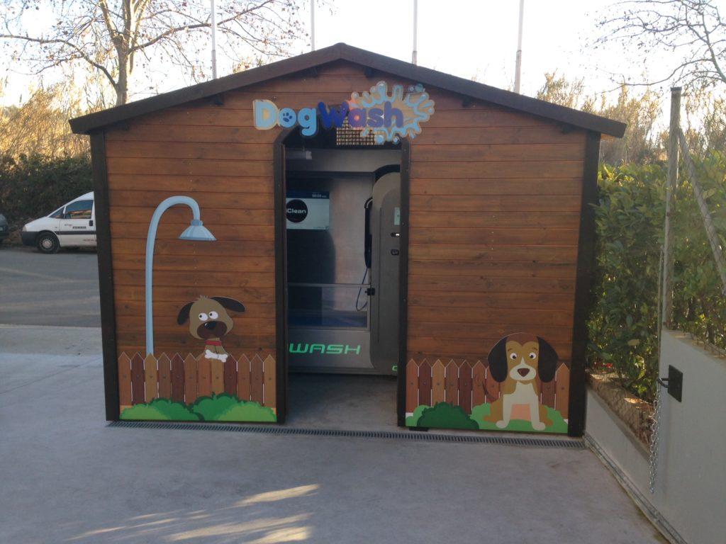 Dogwash-dans-un-chalet