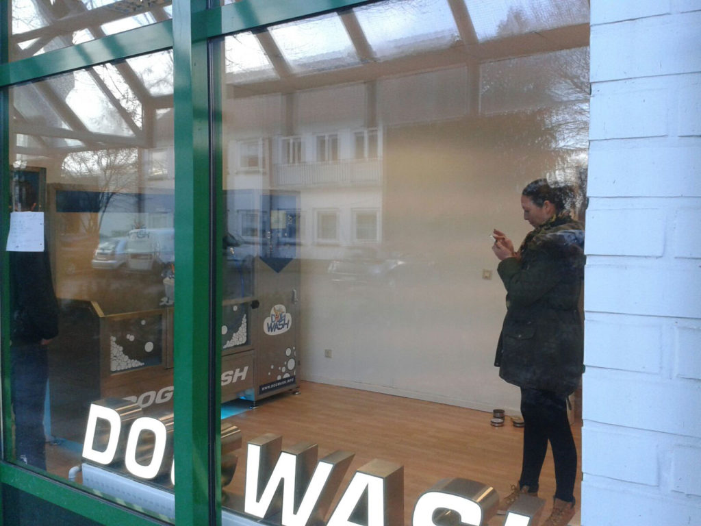 Dogwash-interieur