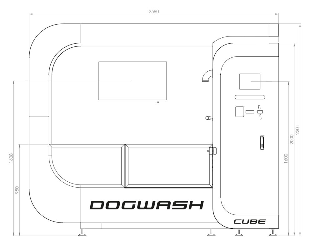 Dimensions-Dog-Wash-Cube