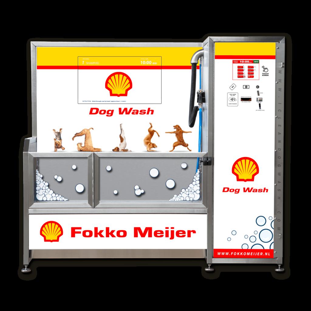Visuel personnalisation Dogwash Fokko Meijer