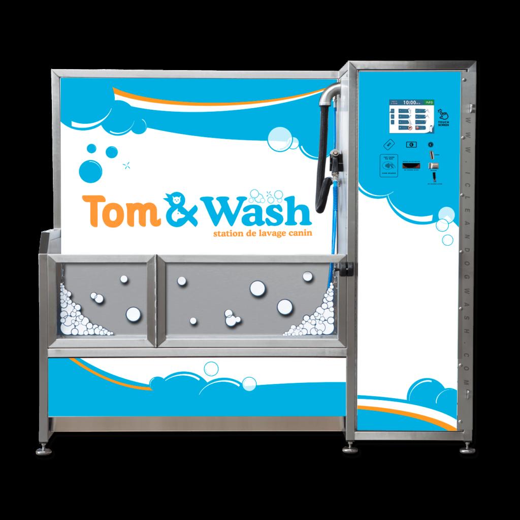 Visuel personnalisation Dogwash Tom and Wash