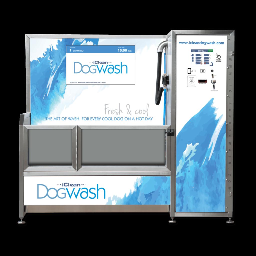 Visuel personnalisation Iclean Dogwash