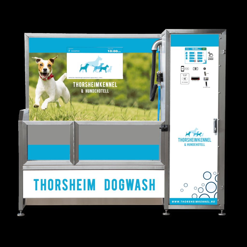 Visuel personnalisation Thorsheimkennel Dogwash