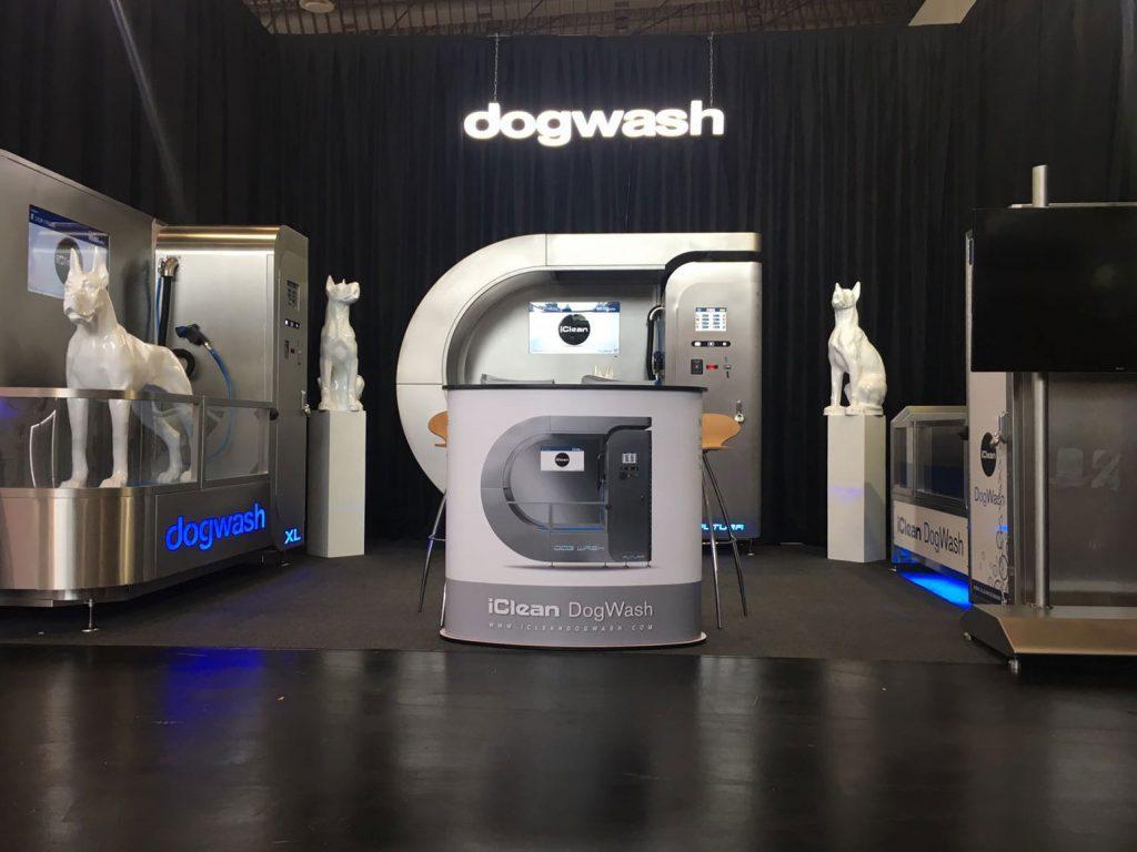 Notre stand d'exposition Iclean Dogwash au salon Interzoo de Nuremberg
