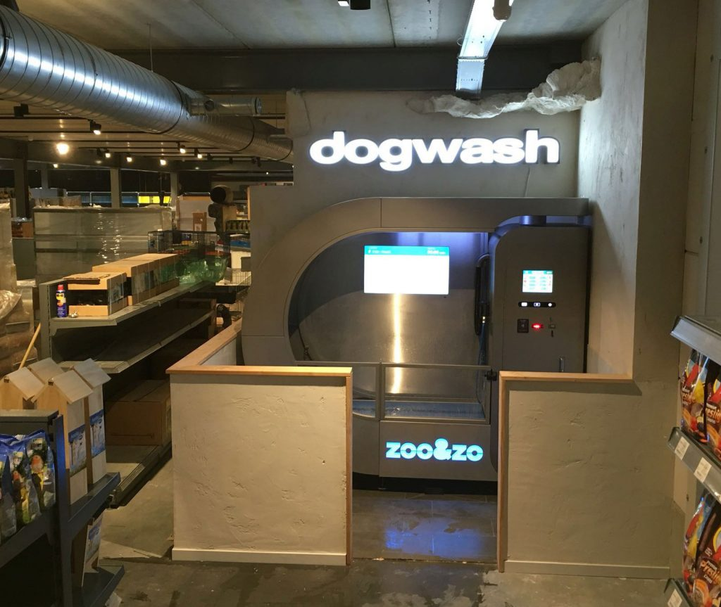 Essai et test de l'un de nos Dogwash