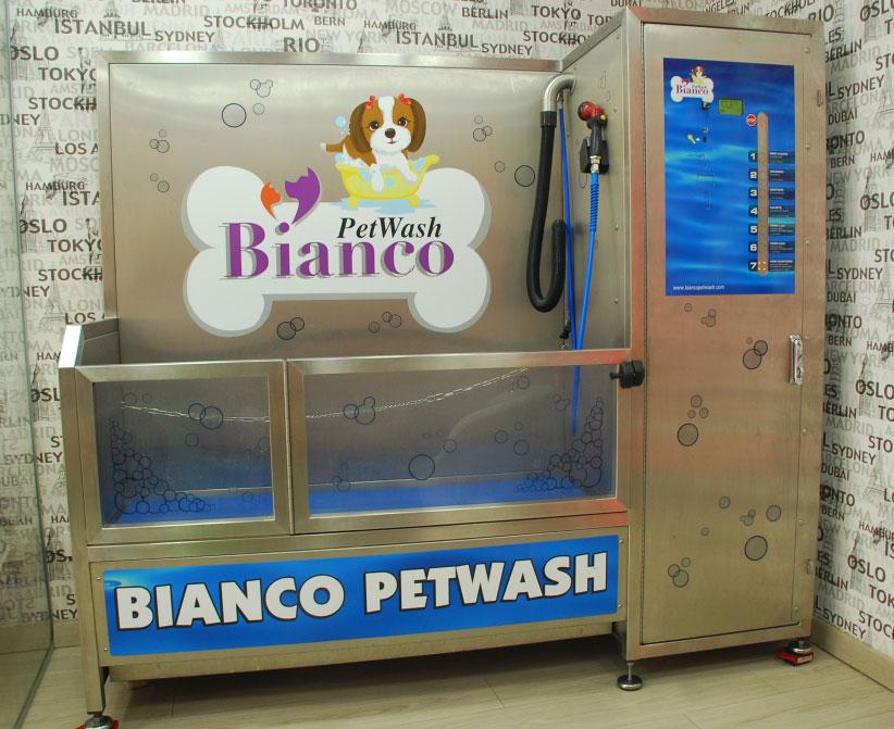 Dogwash chez Bianco Petwash