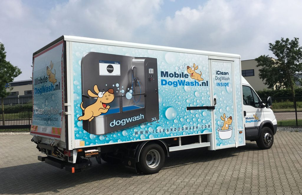 Utilisation d'un Dogwash Mobile