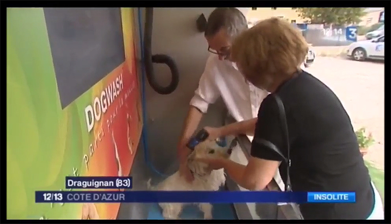 Dogwash au journal de France 3