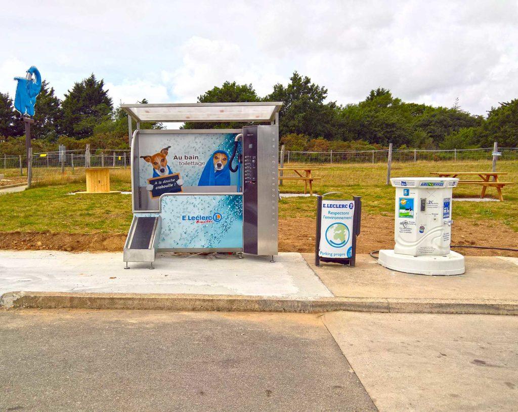 Station dogwash chez Leclerc Riantec Lorient