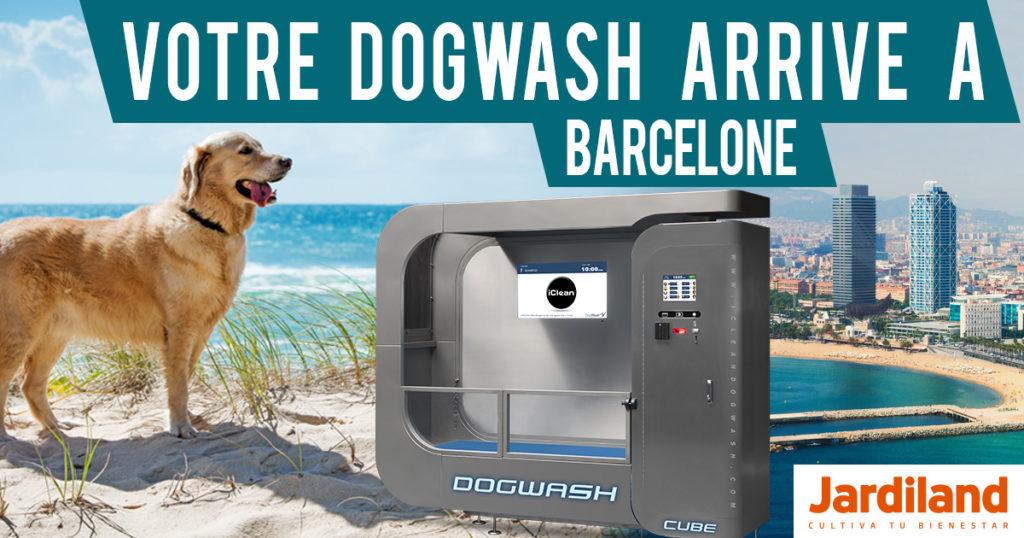 Dogwash à Barcelone